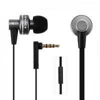 AWEI ES900i Metal Bass Stereo HiFi Earphone Earbuds Headset Earpiece For MP3 MP4 Iphone Samsung Mobile