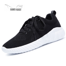 Summer New Women Casual Sport Shoes Mesh Flats Running Shoes Woman Fashion Breathable Soft Lace-up Female Sneakers кроссовки 2019 summer new fashion running shoes flying woven socks women sneakers soft breathable lace up shoes ladies white shoes woman