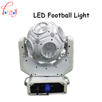 LED soccer lamp stage light disco party light LED RGBW 4in1 LED shaking head beam light LED Football lamp 90 240V 1PC