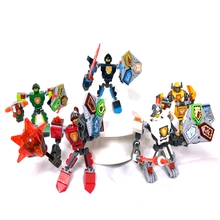 New best-selling creative future Knight Cray Vulture Fighter Assembled Chariot Shield Mech Children Building Block Toy Gift