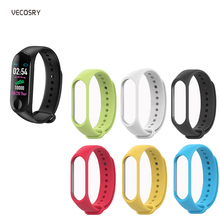 10PCS Mi Band 3 Accessories Pulseira Miband 3 Strap Replacement Silicone Wriststrap for Xi