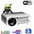 3600 lúmenes accesorios inteligente Android 4.4 tv lcd led proyector full hd 1920x1080 3d de cine en casa projetor vídeo proyector beamer