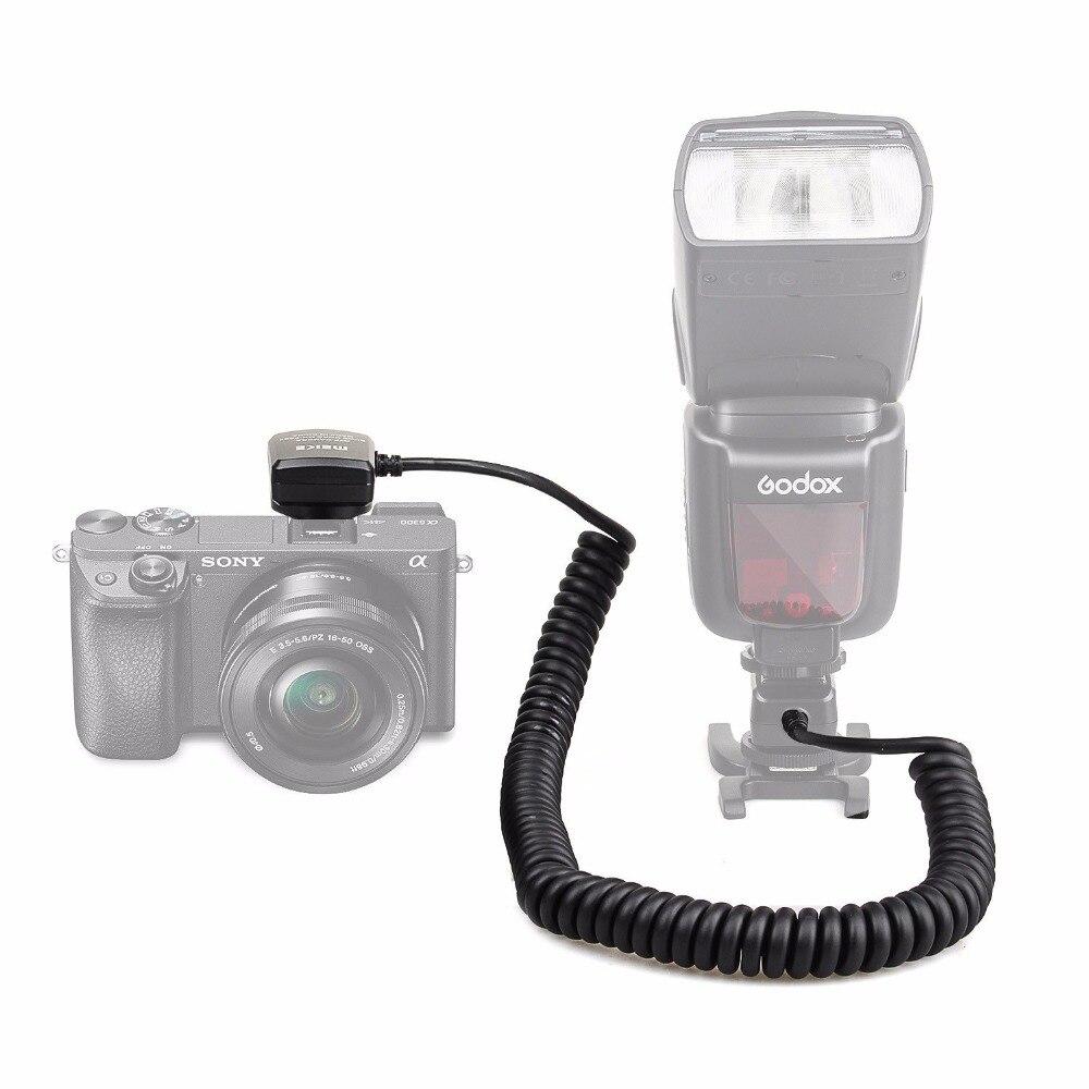 Meike MK FA02 3M 118 Inches TTL Flash Light Synchro Cable Cord Off Camera MI Multi