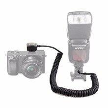 Meike MK-FA02 3M 118 Zoll TTL Flash Licht Synchro Kabel Off Kamera MI Multi Interface Sync Kabel Für sony A7 Godox V860ii