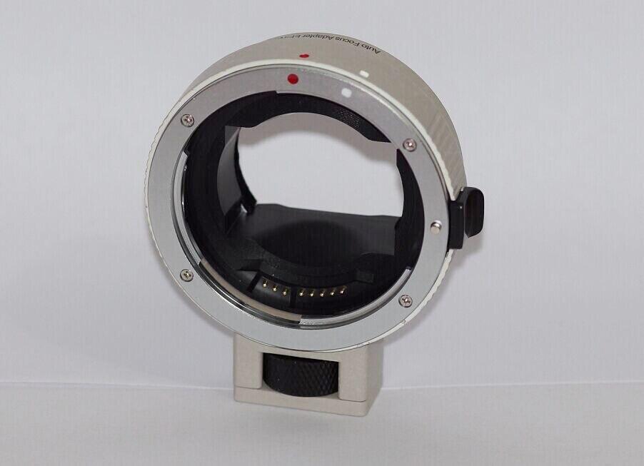 NOUVEAU blanc Mise Au Point Automatique EF-EMOUNT FX Monture Adaptateur pour Canon EF EF-S Objectif pour Sony Monture E NEX 3/3N/5N//A7 A7R Full cadre