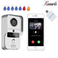 KNOX KW02C Video Peephole Door Camera Wireless Digital Video Camera Melody Doorbell RFID Intercom Motion Detection