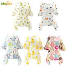 Милая Пижама для маленьких собак одежда и кошек комбинезон щенков