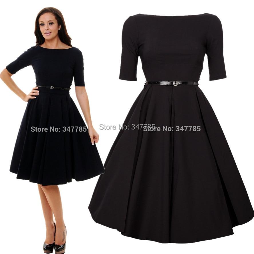 summer women vintage 50s Audrey Hepburn style retro rockabilly ...
