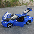 Brand New CAIPO 1/32 Scale Car Toys Jaguar XKR-S Diecast Metal Flashing Musical Pull Back Car Model Toy For Gift/Kids/Collection