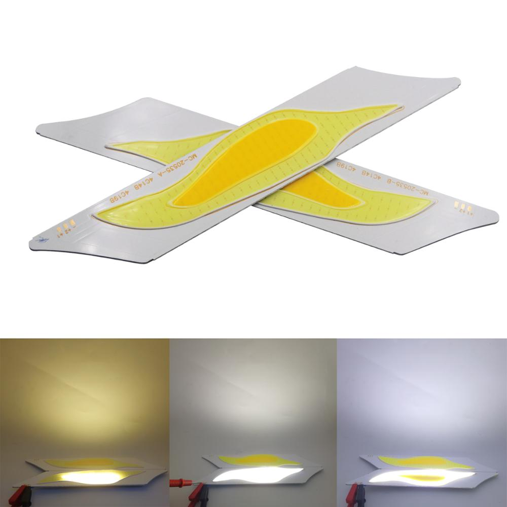 5 pairs 2018 A+B manufacturer 12V DC led cob strip chip light bulb yellow cold white double color cob led strip for diy lighting