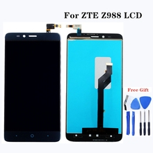 For ZTE Z988 LCD Screen Replacement for ZTE Mobile Phone Accessories Assembly and Touch Glass Digitizer Assembly Free Shipping цена 2017