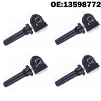 4 PCS Car TPMS Sensor Tyre Tire Pressure Sensor 13598772 for Chevy Equinox Buick for Cadillac CTS