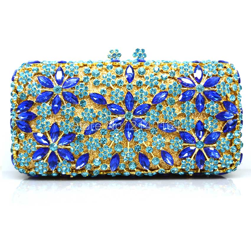New Women Fashion Bridal Lace Day GOLD Clutch Party Wedding Dinner Evening Bags Crystal Diamonds Bridesmaid Day Clutch Purse Q50 women custom name crystal big diamond clutch full crystal hot selling 2017 new fashion evening bags 1001bg