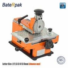 YL-360 BateRpak handleiding markering machine, aluminium etikettering codering apparatuur parameter label printer 2/2. 5/3/4/5/6mm