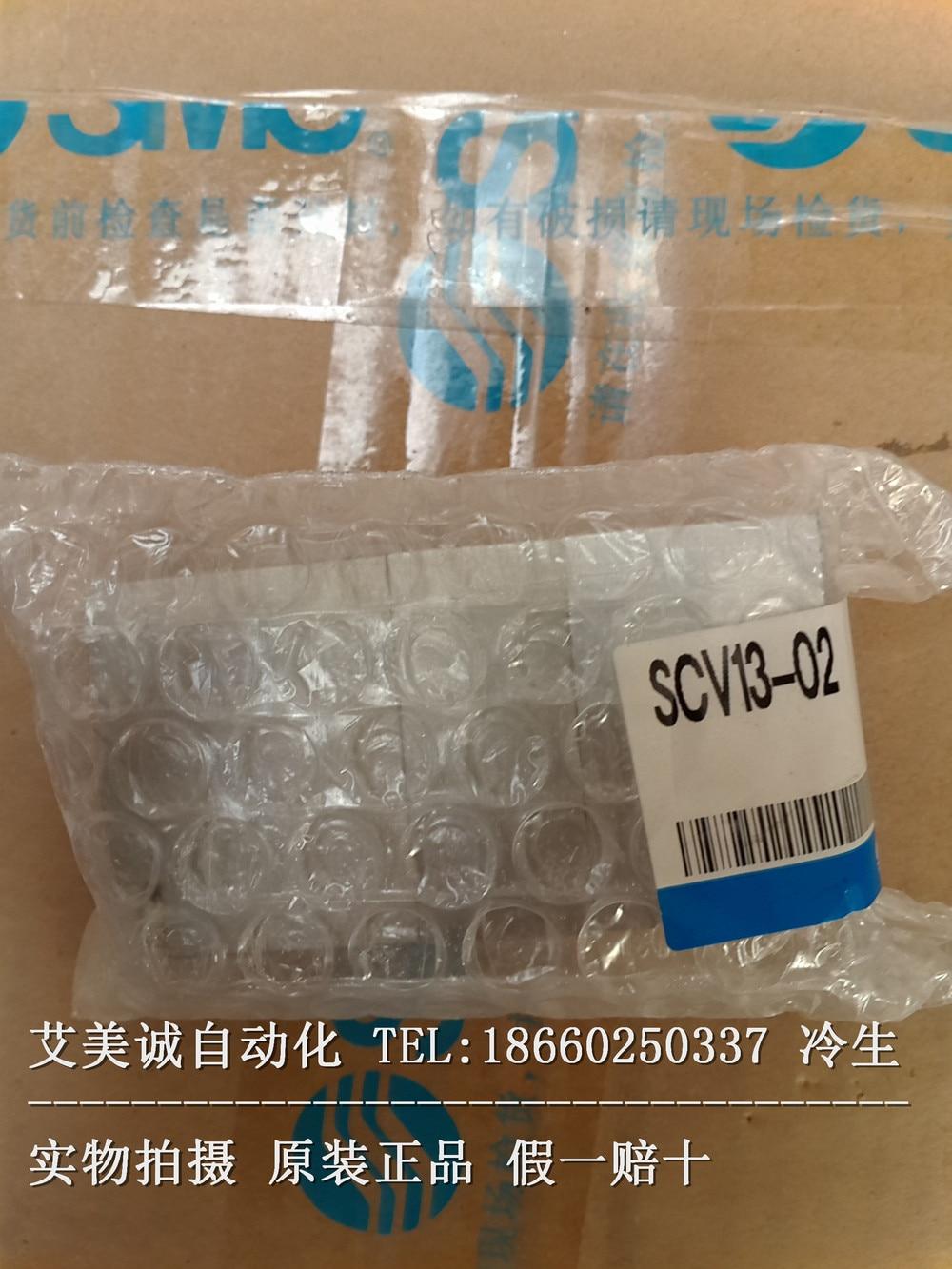 SMC pneumatic control valve SCV13-02 new original genuine scv valve suction control valve 8 98145455 0 8 98145453 0 for isuzu 4jk1 4jj1