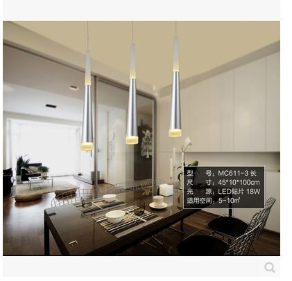 NEW LED acrylic sitting room bedroom lamps and lanterns of modern energy saving lamps 110 240v in Pendant Lights from Lights Lighting