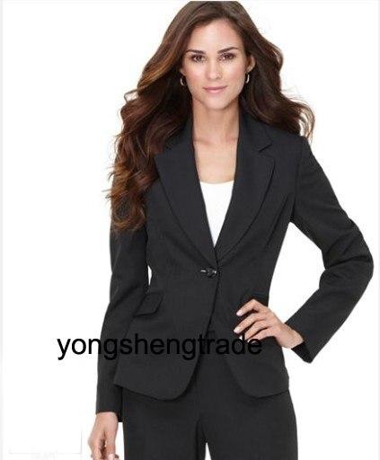 Online Shop Black Women Business Suits Women's Suits Designer ...