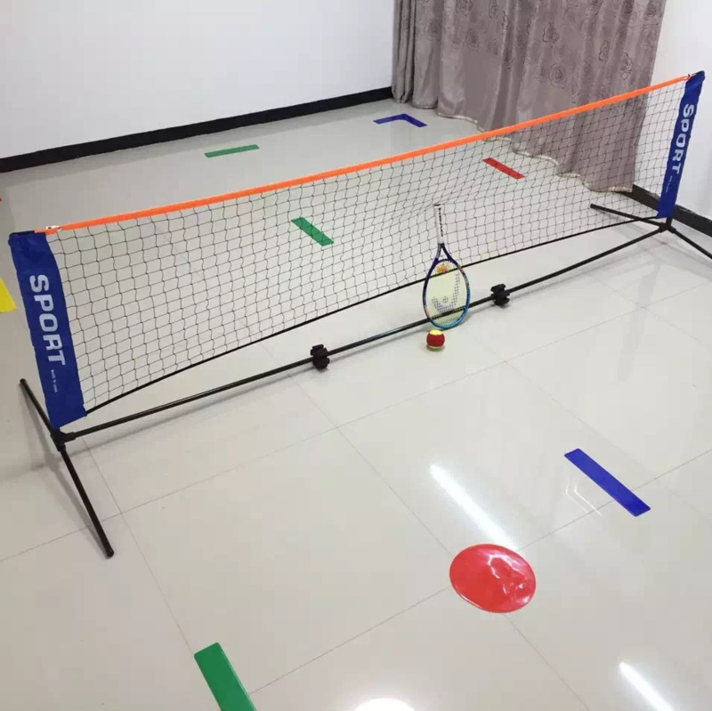 3.1*1.5 M Portable Adjustable Badminton Volleyball Tennis Net With Stand Outdoor Indoor Foldable Tennis Net Steel Tube B81505