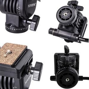 Image 4 - YUNTENG YT 950 950 360 Graden Hydraulische Druk Fluïdumtrek Statiefkop Voor DSLR DV Video Camera Schieten Filmen Slider Rail