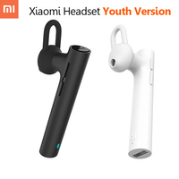 Genuine Xiaomi Bluetooth 4 1 Headphones With MIC Noise Reduction Handfree Headset Earphone For Iphone Xiaomi