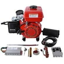 Двойной глушитель 3000 об/мин 3000 Вт бензиновый генератор расширитель диапазона контроллер процесса для 48 В/60 в/72 в Электрический мотор автомобиля