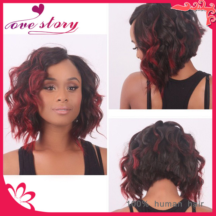 Red highlights in front of hair trendy hairstyles in the usa red highlights in front of hair pmusecretfo Choice Image