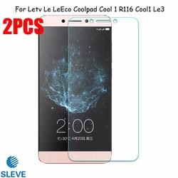 На Алиэкспресс купить стекло для смартфона 2pcs tempered glass for leeco cool 1 screen protector for leeco coolpad cool 1 r116 cool1 dual c106 c106-7 c106-9 leree le3 bag
