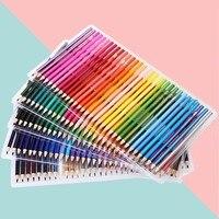 160 cores de madeira óleo colorido lápis conjunto pintura cor arte marcadores lápis para desenho esboço crianças presentes arte suprimentos papelaria|  -