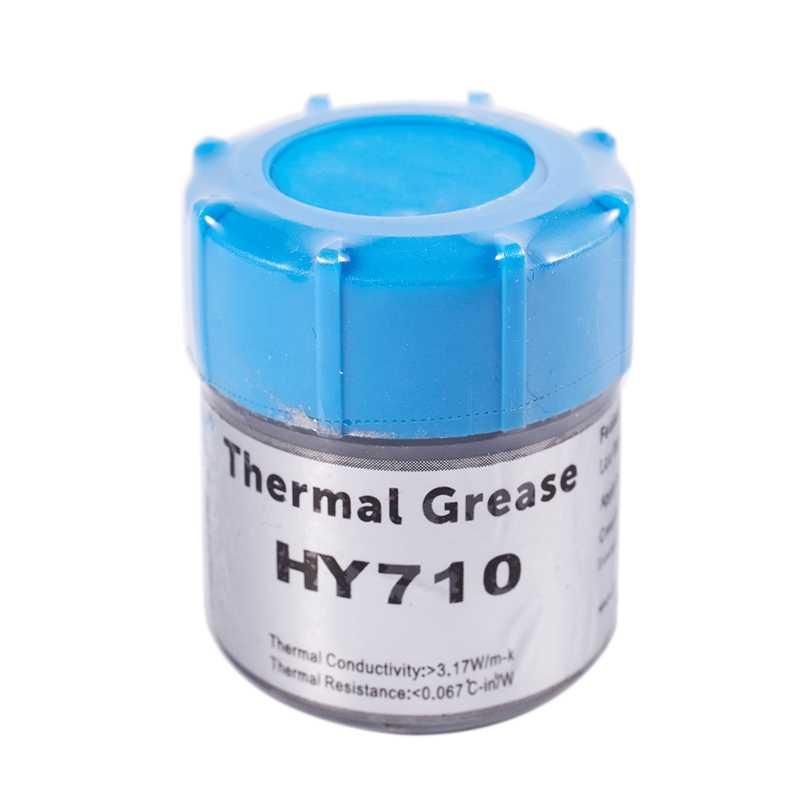 20g pasta de grasa térmica de plata compuesto de Chipset de refrigeración para CPU GPU HY710