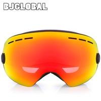 BJGLOBAL Unisex Dubbele Lens Motorbril Motocross Bril UV400 Anti-fog Snowboard Skiën Goggle Ski Bril