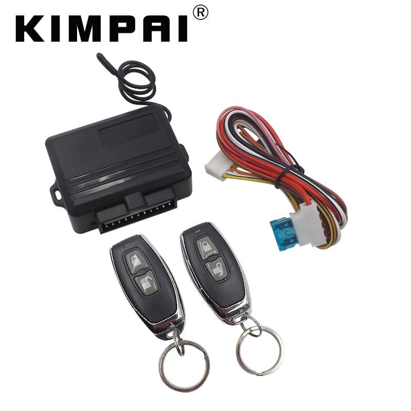 KIMPAI Universal Remote Control Car Lock Control Module Keyless System Anti Theft Device One Way Auto