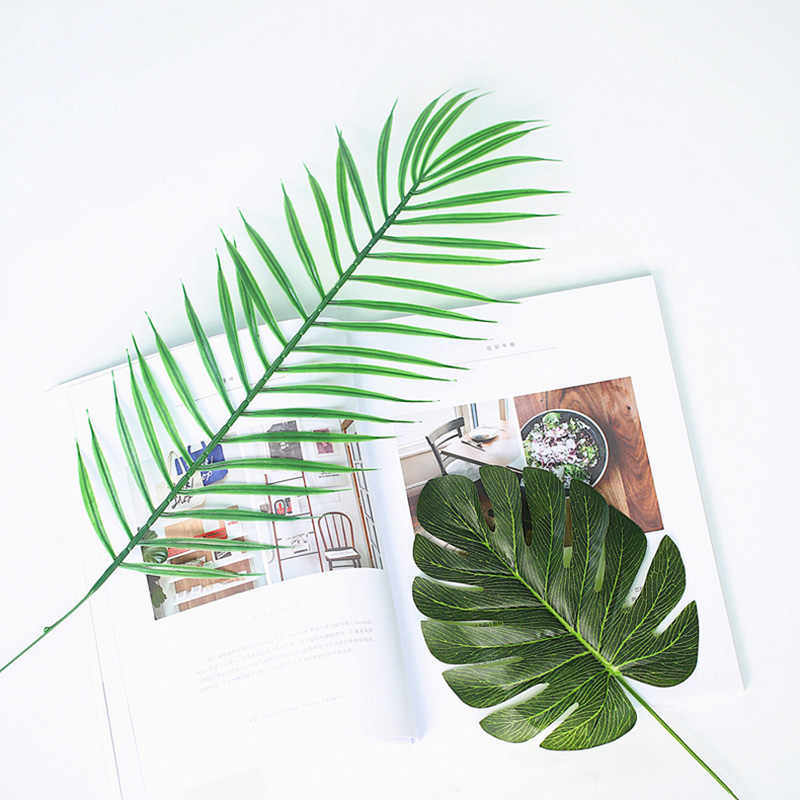 Fondo fotográfico de alta calidad de planta con hojas verdes simuladas, estudio fotográfico, Fondo de disparos, artículos de decoración, fotografía