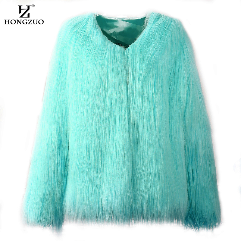 HONGZUO ապրանքանիշ 2017 Ձմեռավոր խիտ տաք - Կանացի հագուստ - Լուսանկար 4