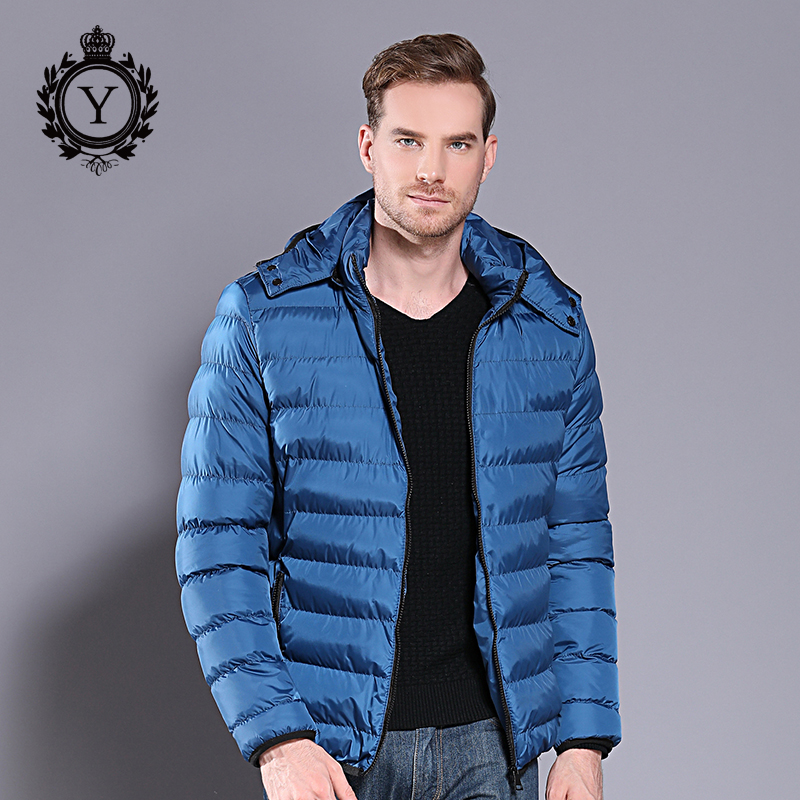 2018 COUTUDI New Winter Jacket Coat Mens Hooded Thick Warm Windproof Quality Cotton Padded Brand Clothing Men's Outwear Overcoat