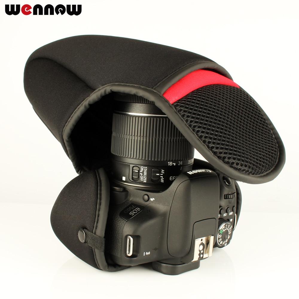Wennew Cámara bolsa paquete suave para Sony Alpha A6500 A6300 A6000 A5100 A5000 NEX-6 NEX-3N NEX-5N 5 t 5C 5R NEX-7 NEX5 NEX3