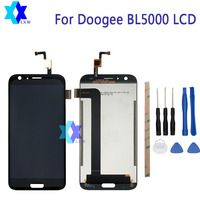 For Original Doogee BL5000 LCD Display Touch Screen Panel Digital Replacement Parts Assembly 5 5 Inch