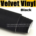 "4""/8""/12""/16""/20""/24""x53""/Lot Black Color Promotion suede fabric velvet for car wrap vinyl interior and exterior decoration"