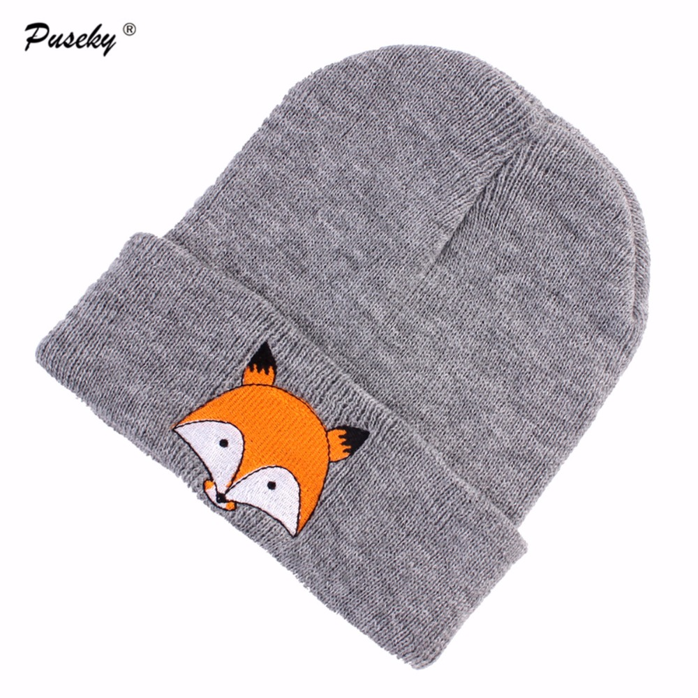 2017 Autumn Winter Hat Unisex Warm   Skullies     Beanies   For Newborn Toddler Baby Cute Animal Hats Causal Baby Hats