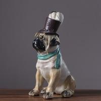 Оригинальность Американский перо Cap собака смолы ремесла новоселье подарок Личные мебель аксессуары