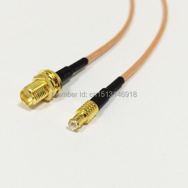 1 шт. Новый RP-SMA женский прямой штекер mcx RG316 коаксиальный кабель 15 см 6