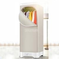 Ev Aletleri'ten Giysi Kurutucuları'de RC 52 Ev Çift katmanlı elektrikli çamaşır kurutma makinesi Ultra sessiz Taşınabilir Airer Kurutma Hızlı Giysi Sıcak Kuru Makinesi Bebek