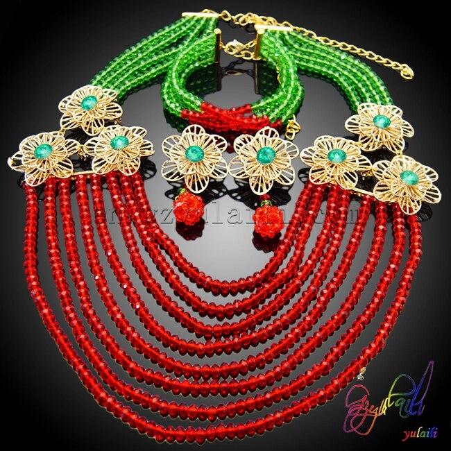 Free Shipping Luxury Fashion Statement Good Quality Jewelry Sets Big Brand Elegant Crystal African Beads Jewelry SetsFree Shipping Luxury Fashion Statement Good Quality Jewelry Sets Big Brand Elegant Crystal African Beads Jewelry Sets