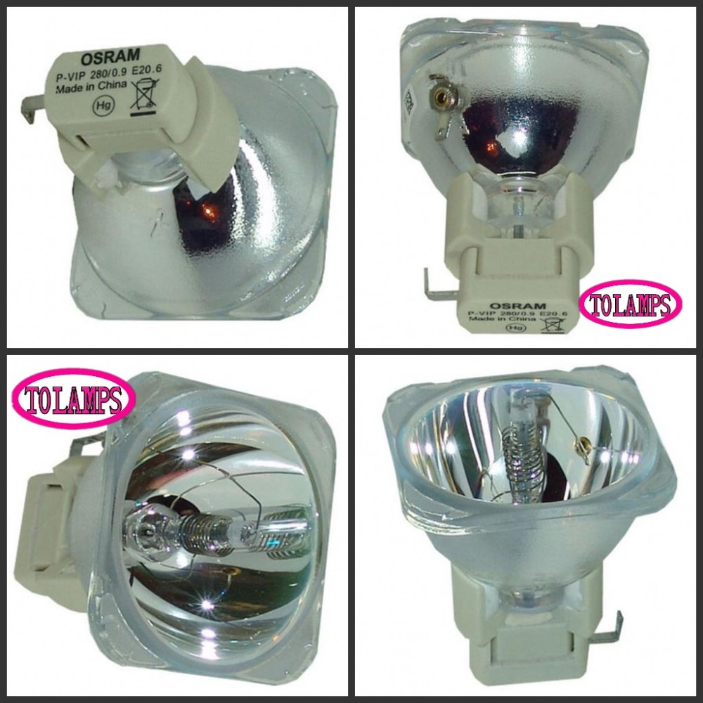Replacement Projector Lamp bulb Original Osram P-VIP 280/0.9 E20.6 For BenQ / Optoma /Mitsubishi/Viewsonic Projector Lamp replacement p vip100 120w 1 3 p23h projector lamp for osram totally new original 180days warranty big discount hot sale vip120w