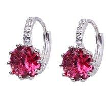 Jewelry Earrings Cubic-Zircon Wedding-Party-Gift Bettyue Twelve-Colors Woman Luxury Brand