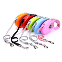 Durable Pets Dog Collars Pet Leads 3M 5M Automatic Retractable Dog Leash Dogs Leads Extending Puppy