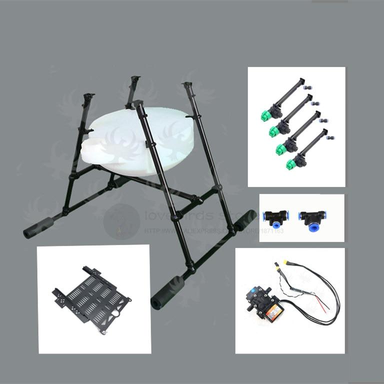 DIY 5/10/15KG Agricultural Drone spraying system Spray gimbal kit brushless sprayer unassembled 5L / 10L / 15L цена