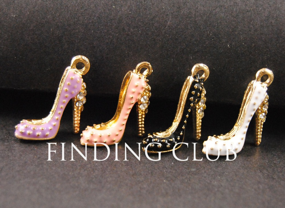 Wholesale Grab Bag Lot of 100 Mixed Charms Pendants Earring Findings Bracelet