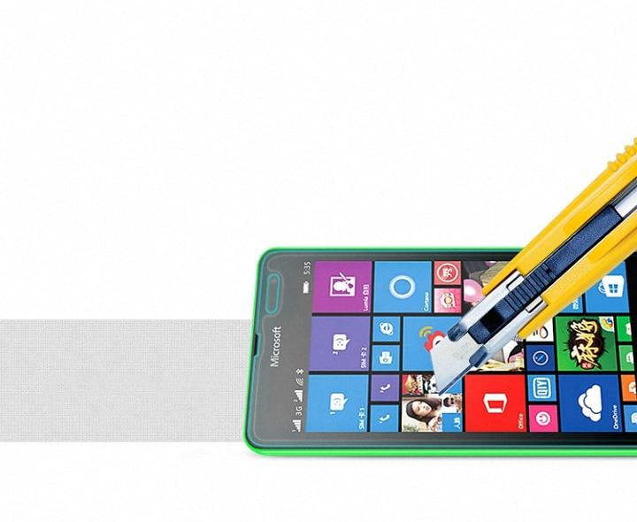Ապակե էկրանով պաշտպանիչ BAG Nokia Lumia 520 530 - Բջջային հեռախոսի պարագաներ և պահեստամասեր - Լուսանկար 4