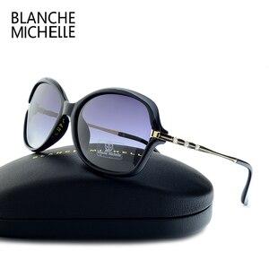 Image 1 - Yeni moda güneş gözlükleri kadınlar polarize UV400 degrade Lens güneş gözlüğü kadın Vintage Sunglass 2020 ile güneş gözlüğü