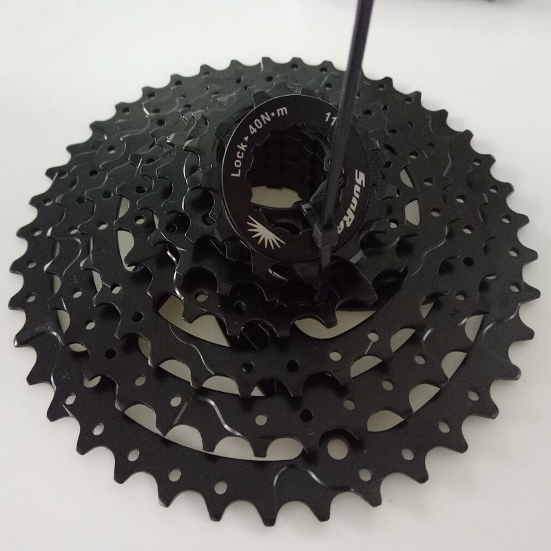 Sunrace CSM680 8 speed 11-40T wide ratio MTB mountain bike bicycle cassette flywheel image